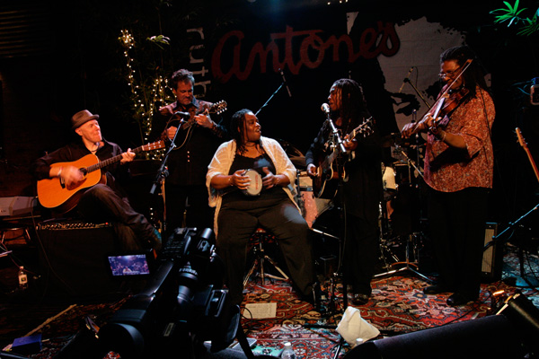 "Scottie Miller with Ruthie Foster - ""Live At Antone's"" 2012 DVD of the Year - Blues Music Awards."