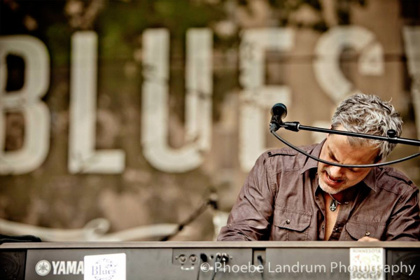 Scottie Miller Band at Blues Blues Festival - St Louis MO 2013 - Photo by Phoebe Landrum Photography.
